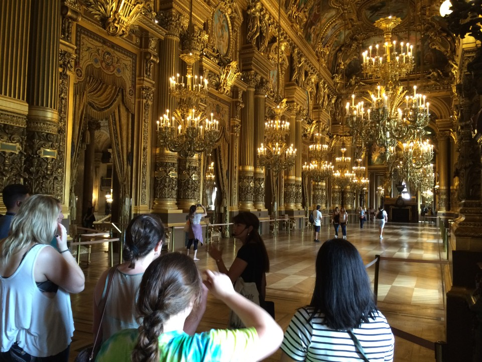 Guided tour of the Opera House