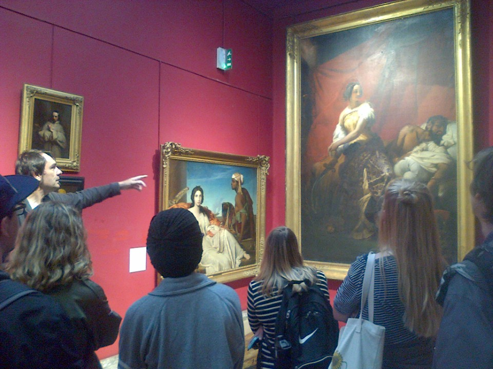 Outing to the Museum of Fine Artsfor Art History class