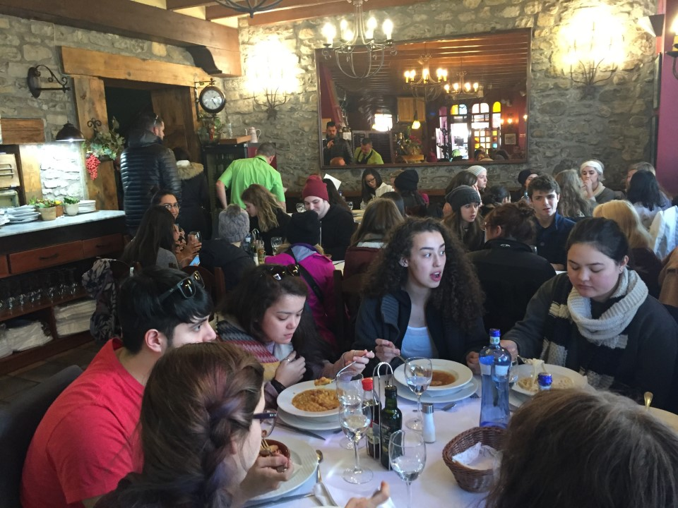 Spanish lunch in Jaca