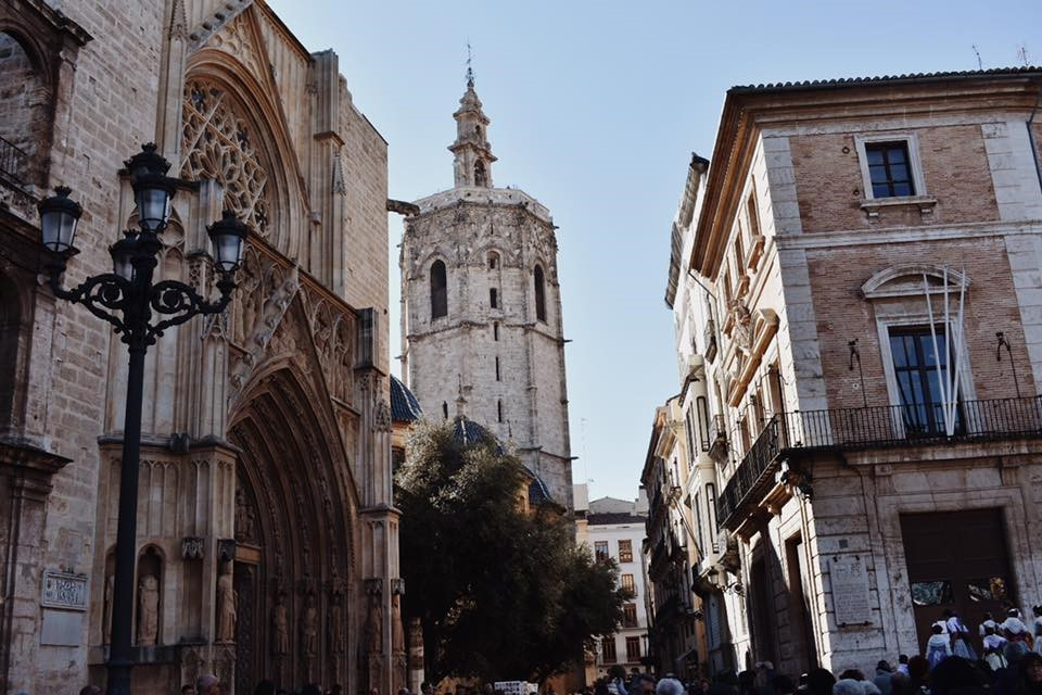 The city centre of Valencia offers a view at its rich history and architecture.