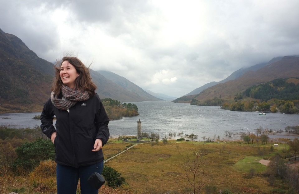 USAC trip to the Scottish Highlands, autumn 2017.Glenfinnan where Bonnie Prince Charlie raised his standard, convincing highlanders to reignite the Jacobite War.Photos by Julie Howden