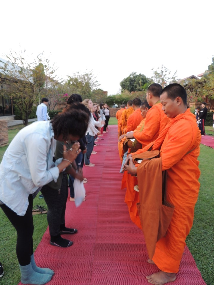 Wai, the traditional Thai greeting and sign of respect