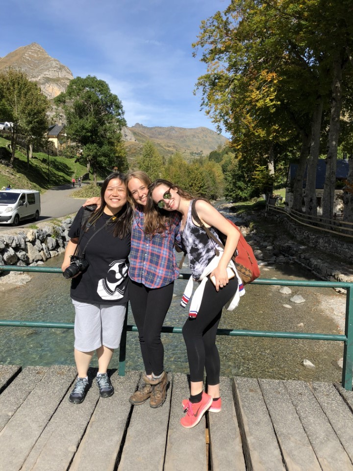 Fall 2018 students on the Pyrenees Field Trip