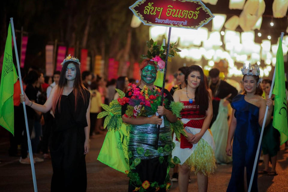Experience a festival unlike any other when you attend the Loy Krathonng Festival in Khon Kaen
