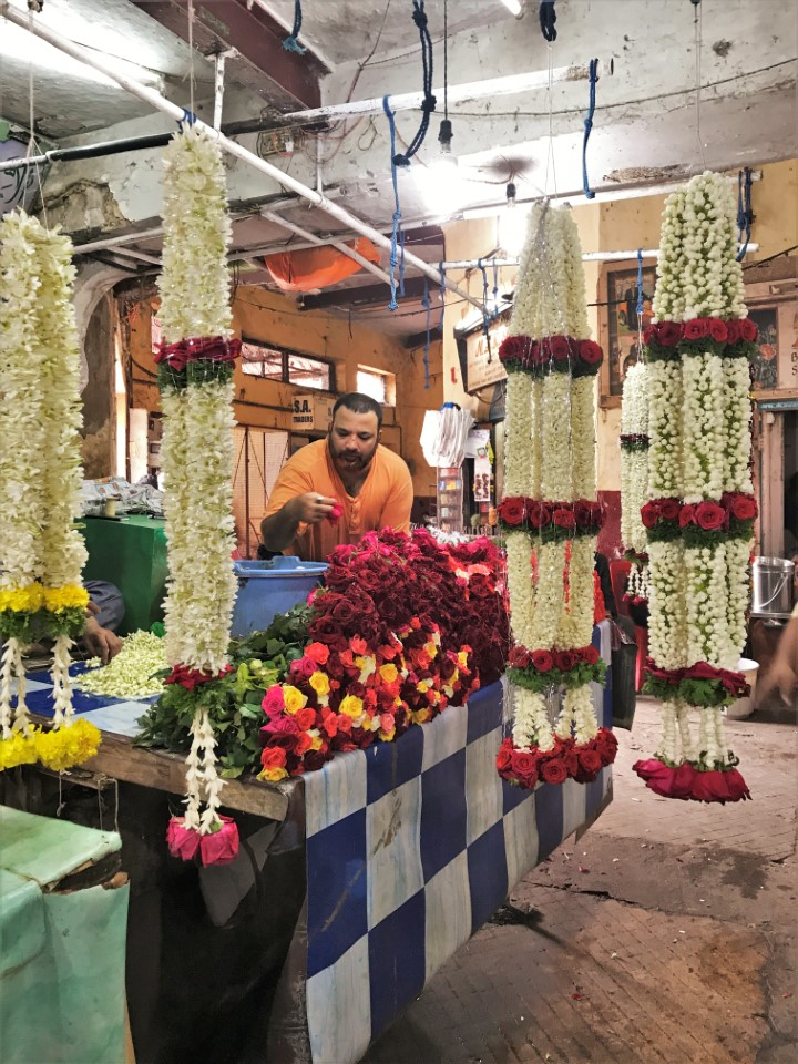 Flowers can be found in many of the markets in Bengaluru