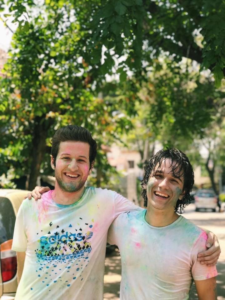 Holi is one of the most famous celebrations in India