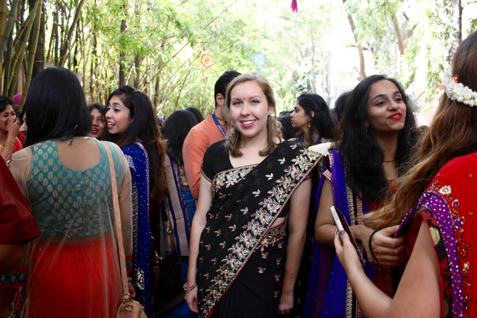 Student celebrates cultural day