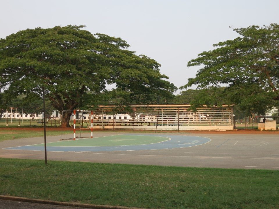 The University of Ghana has several outdoor sports areas