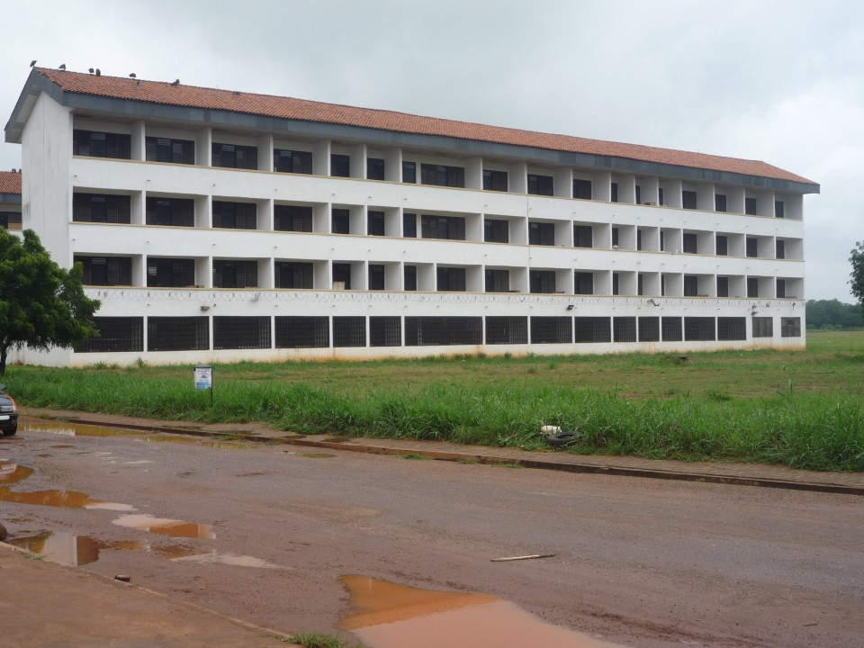Students stay in the International Hostel on campus