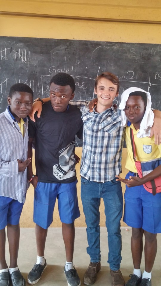 Helping teach local students