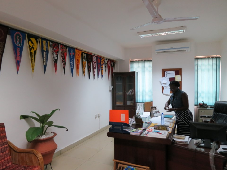 The USAC office