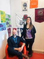 Resident Director, Stefano and Program Assistant, Olga