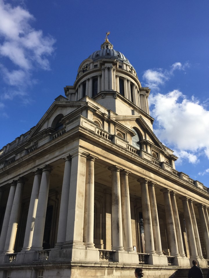 A USAC field trip to Greenwich on this beautiful (yet cold!) London day included a stop at the Old Royal Naval College, an architectural marvel.