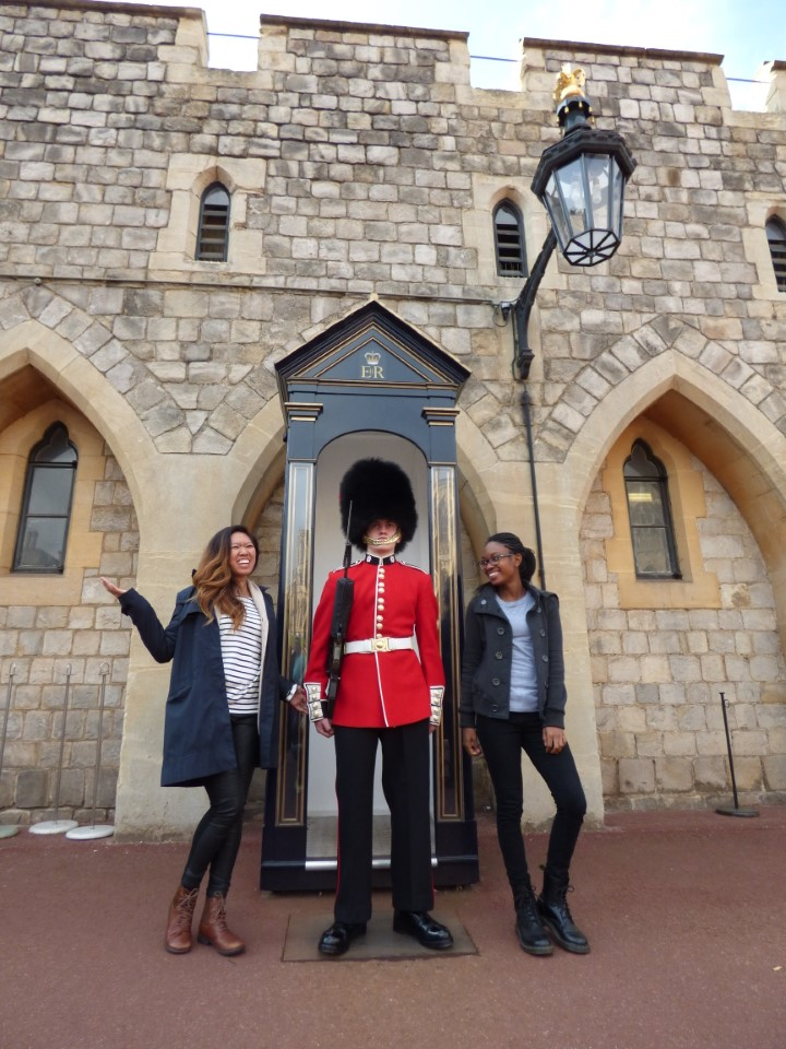 You have to get a picture with the Queen's Guard