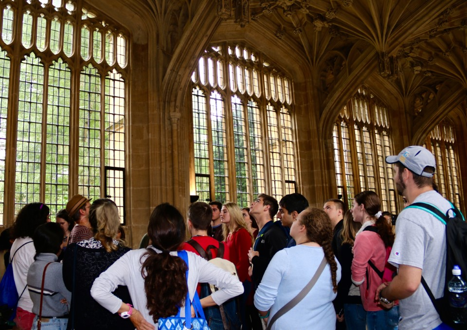Exploring the historic buildings of Oxford University