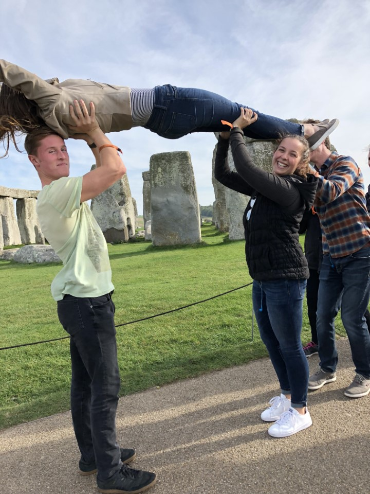 Stonehedge is the perfect place to try and mimic the stones