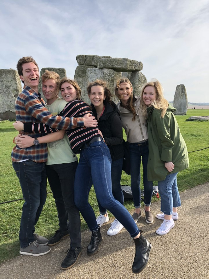 Stonehenge, one of man's most mystifying creations, is just a short bus ride away from the campus