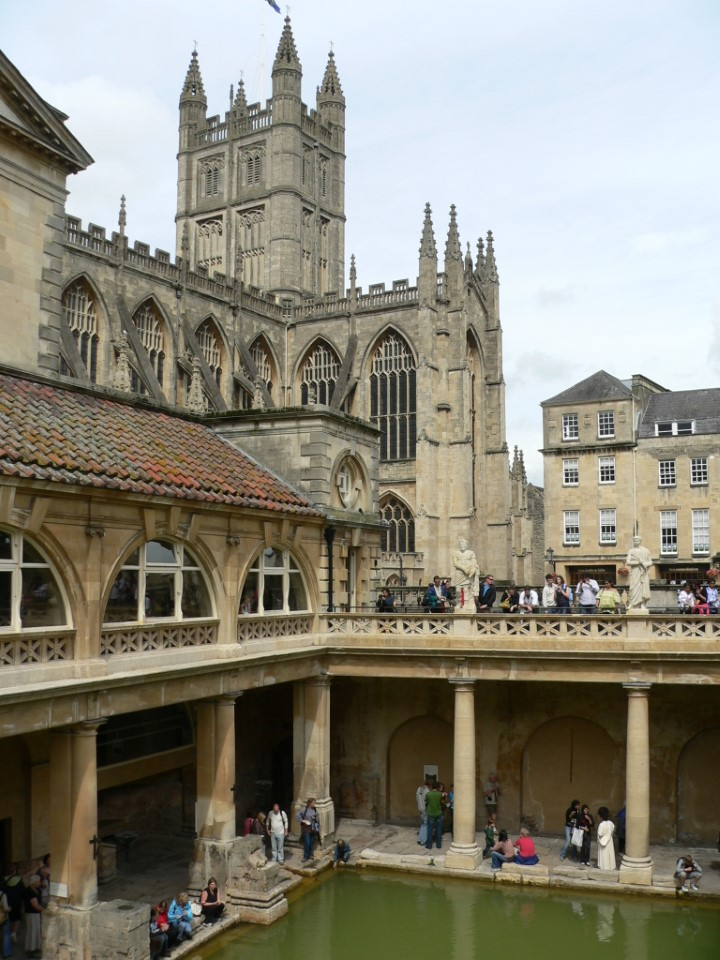 Take a self-guided tour of the Roman baths and learn more about this historic site