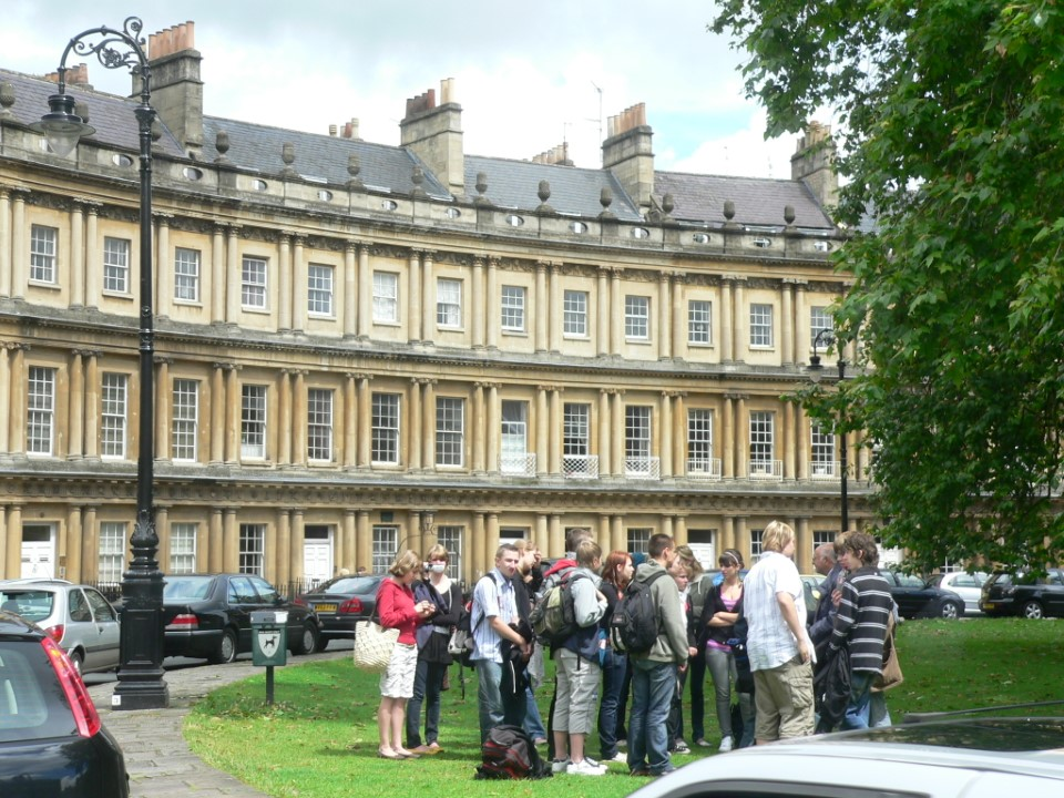 The city of Bath is an easy day trip from London, and its rich history attracts many visitors