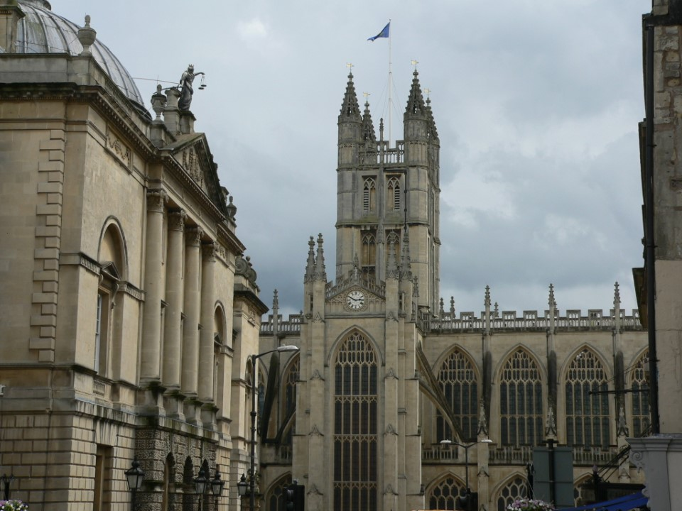 Did you know that the world's first postmark was stamped at Bath in 1840?