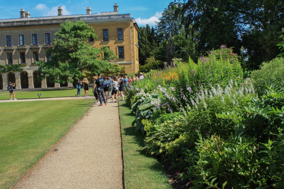 Exploring the University of Oxford