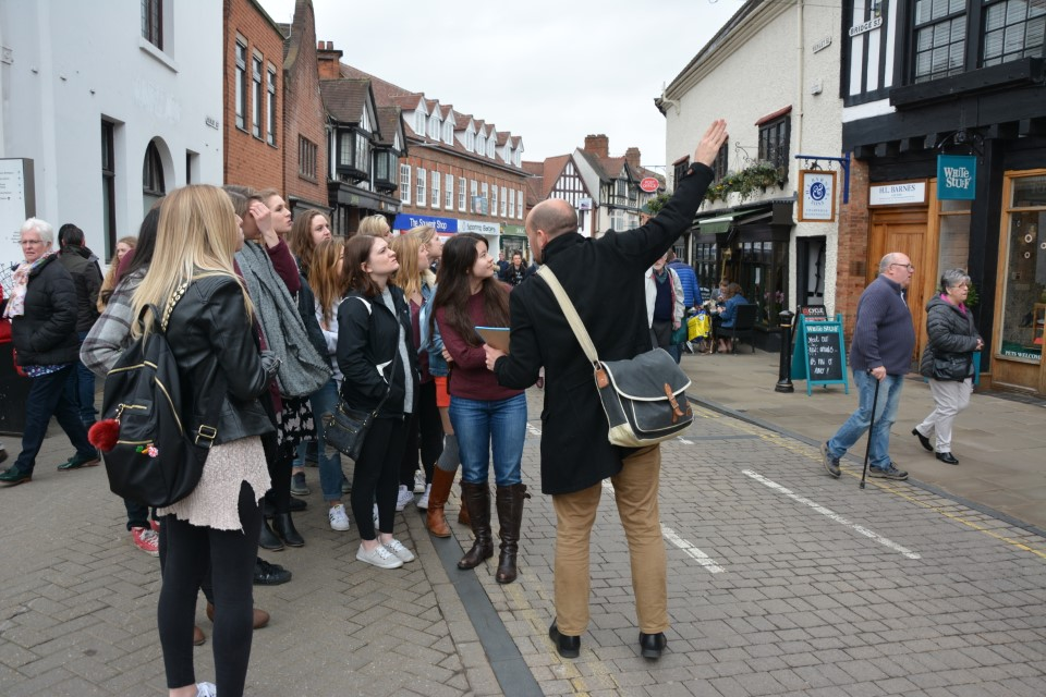 Stratford-Upon-Avon receives nearly 2.5 million visitors every year
