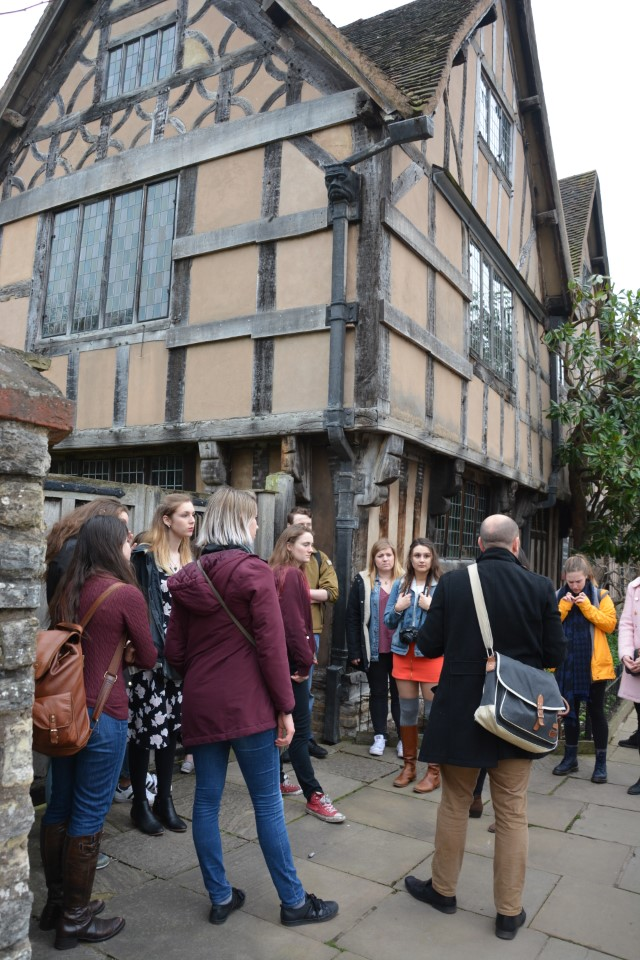 You'll learn all about Shakespeare on this field trip
