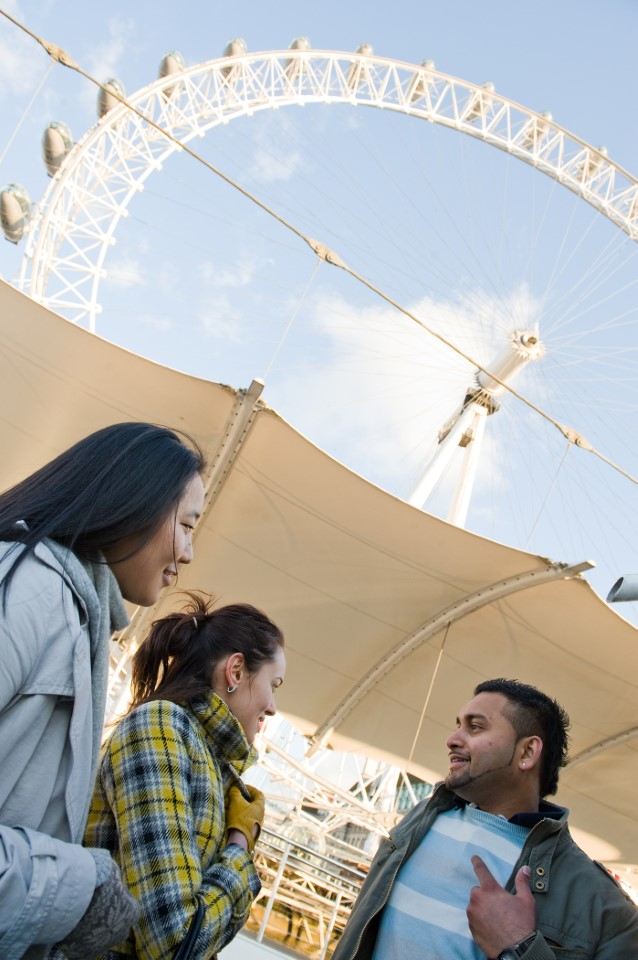 You'll spend plenty of time observing and riding the London Eye