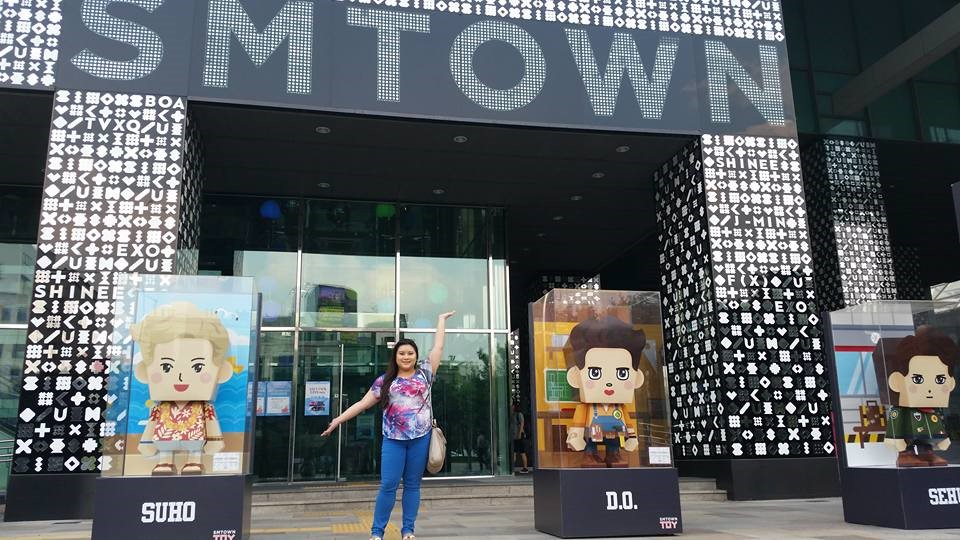 S.M. Town in Gangnam District
