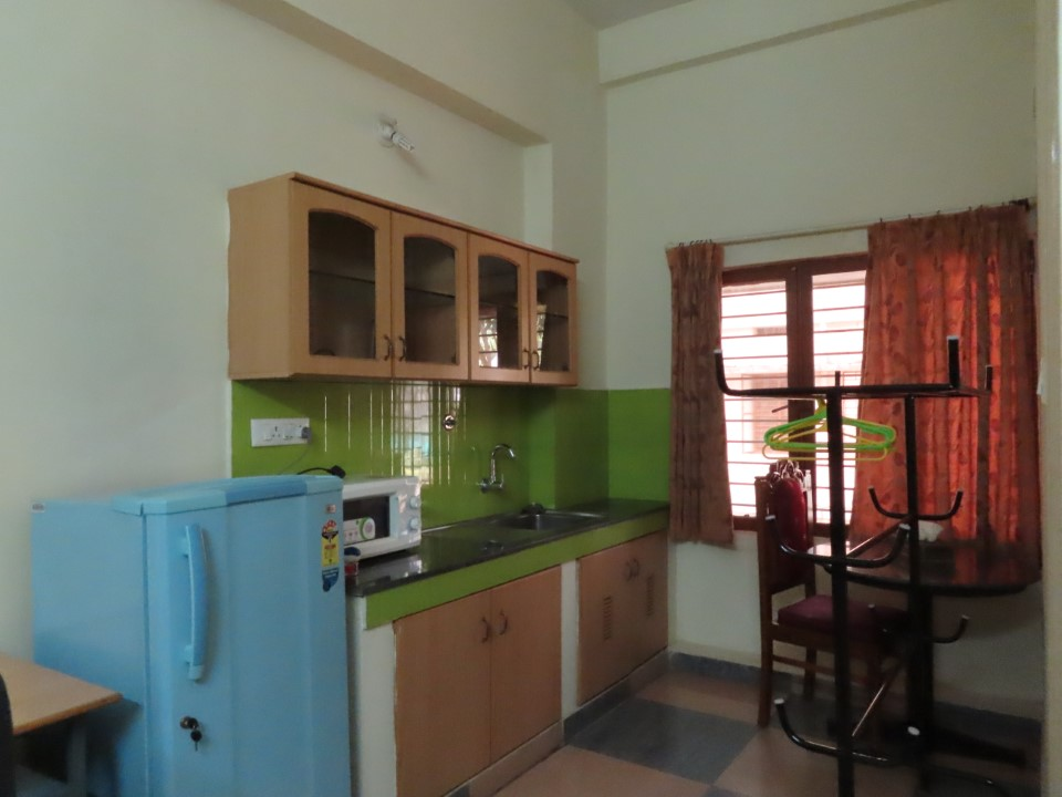 Student kitchen located in the Jonas Hall