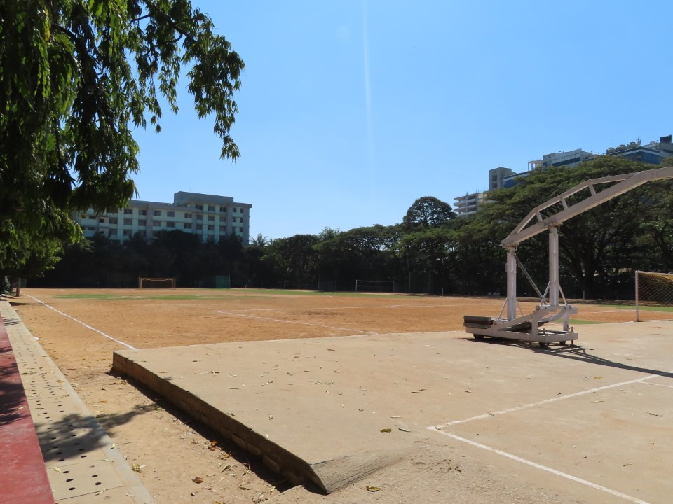 Sports grounds at Christ campus