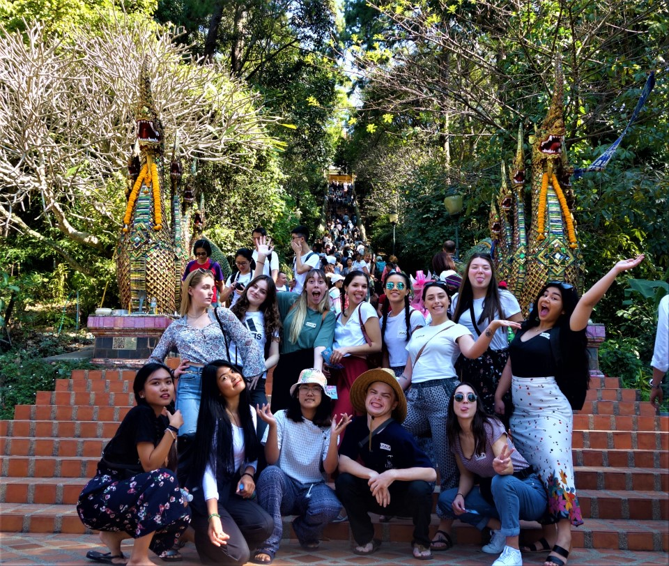 Spring students are ready to explore the gem of Chiang Mai!