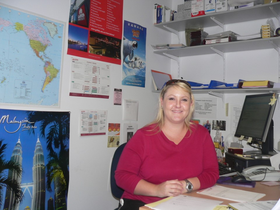 Amazing Julie Lambert is just one of the staff there for your support.