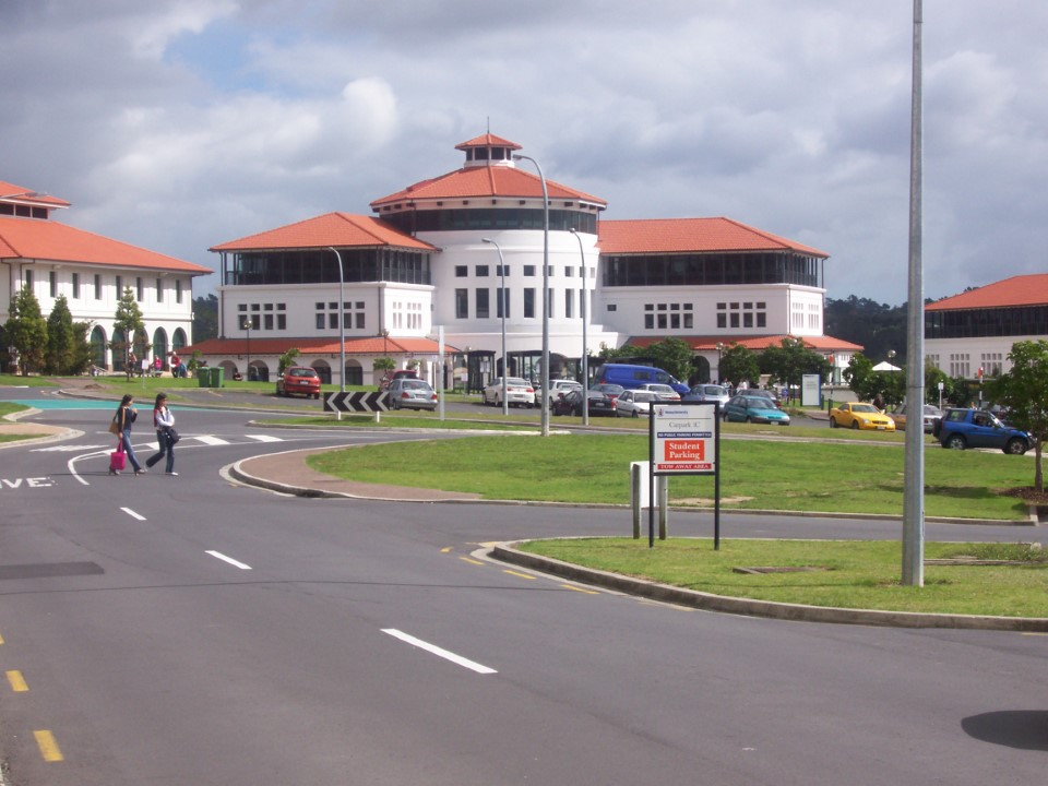The Auckland Student Union.