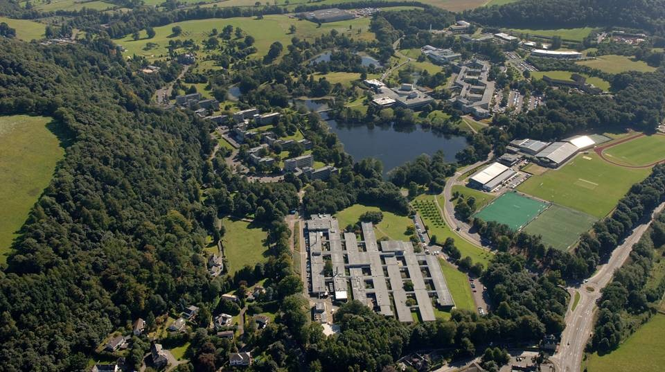University of Stirling is one of the top-rated academic institutions in Scotland.