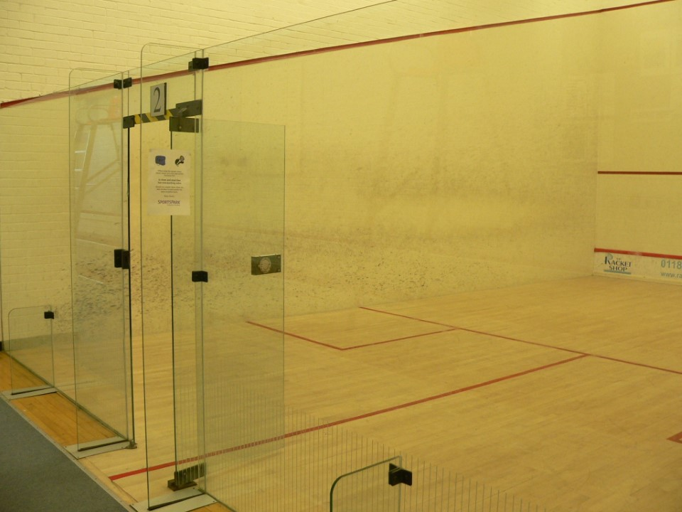 The Sports Park even has racquetball courts.