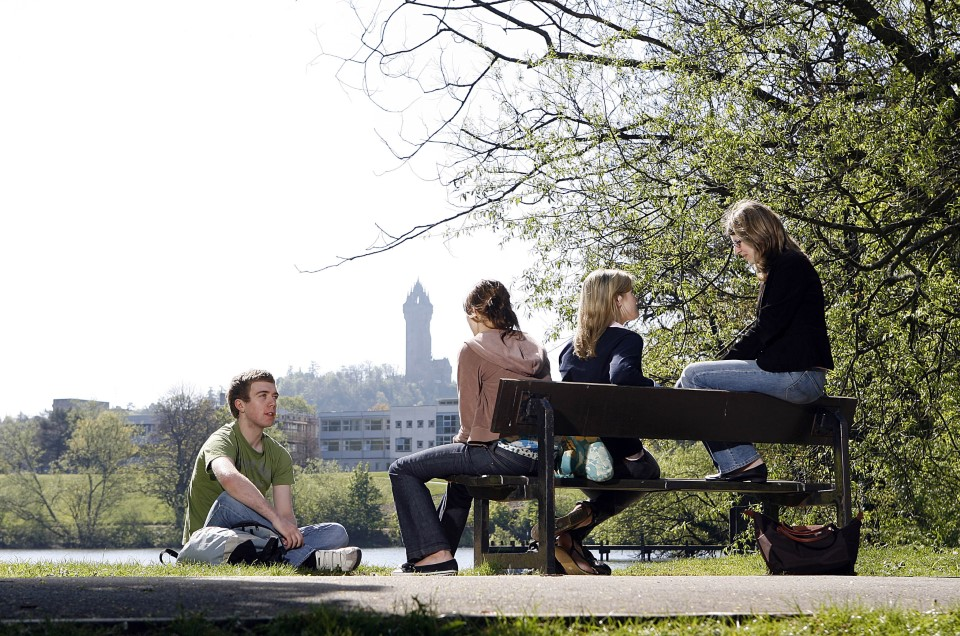 You'll be sure to enjoy hanging out at the university, which was founded in 1967 and was Scotland's first new university in 400 years.