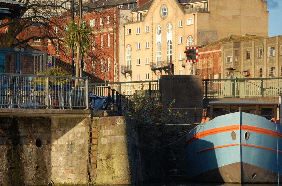 The city docks of Bristol Harbour have been restored, with dockside warehouses converted into houses, offices, shops, art galleries, and cinemas.