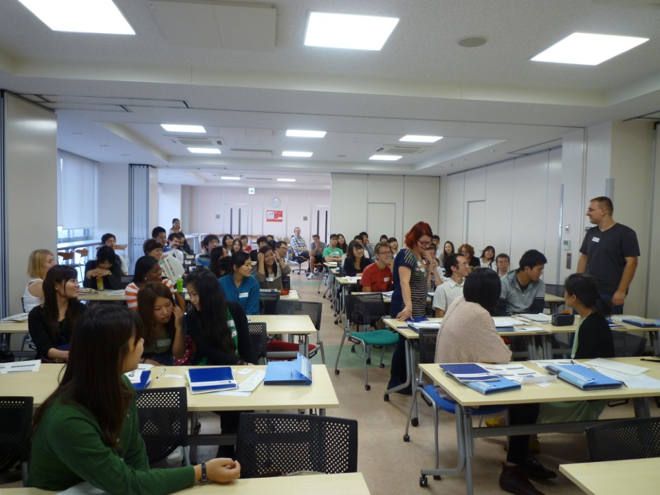 Study Abroad Orientation allows students to meet other international students.